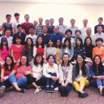 喜瑞都召會青年排與USC大學華語學生排相調